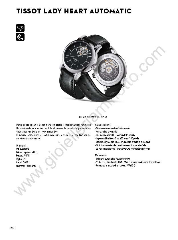 Lady Heart Automatic 2017